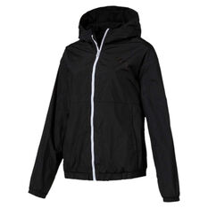 Puma Womens Bold Jacket Black XS, Black, rebel_hi-res