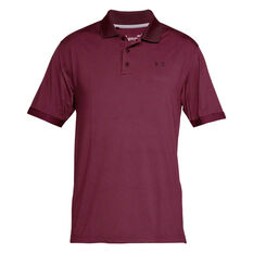 Under Armour Mens Performance Polo Novelty Red S, Red, rebel_hi-res