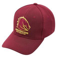 Brisbane Broncos Baseball Cap OSFA, , rebel_hi-res