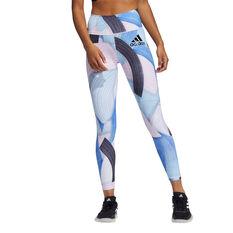 adidas Womens Believe This 2.0 Nini Sum Training Tights Multi XS, Multi, rebel_hi-res