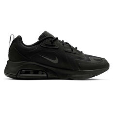 Nike Air Max 200 Mens Casual Shoes Black US 7, Black, rebel_hi-res