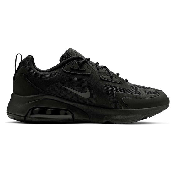 Nike Air Max 200 Mens Casual Shoes Black US 12, Black, rebel_hi-res