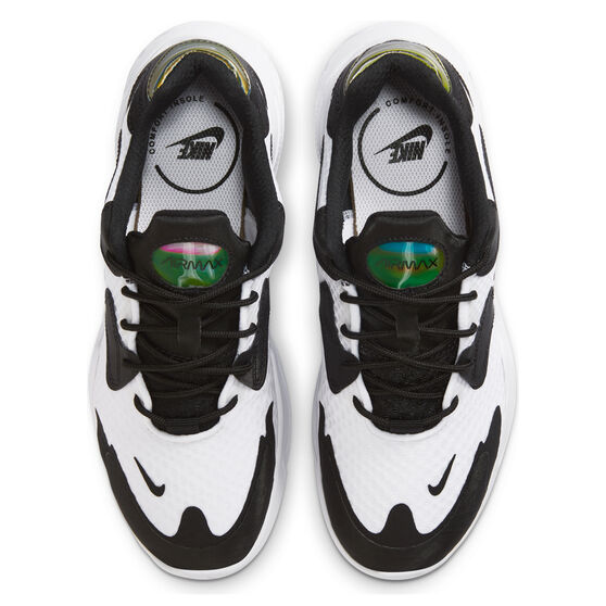 Nike Air Max 2X Womens Casual Shoes, White/Black, rebel_hi-res