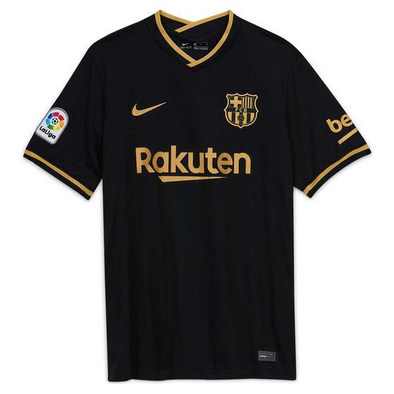 FC Barcelona 2020/21 Mens Away Jersey Black XXL, Black, rebel_hi-res
