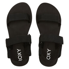Roxy Cage Womens Sandals Black US 6, Black, rebel_hi-res