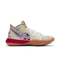 Nike Kyrie 5 x Bandulu Mens Basketball Shoes White / Multi US 7, White / Multi, rebel_hi-res
