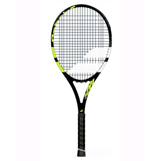 Babolat Rival 102 Tennis Racquet, Black / Green, rebel_hi-res