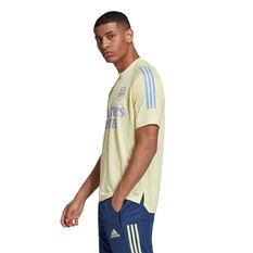 Arsenal 2020/21 Mens Training Jersey, Yellow, rebel_hi-res