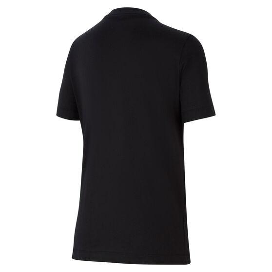 Nike Sportswear Boys Futura Tee, Black/Grey, rebel_hi-res
