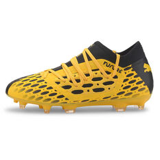 Puma Future 5.3 Netfit Kids Football Boots Yellow / Black US 1, Yellow / Black, rebel_hi-res