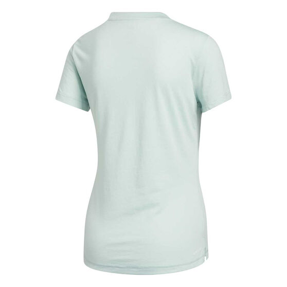 adidas Womens Prime Tee, Green, rebel_hi-res