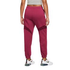 Nike Air Womens Jogger Pants Red XS, Red, rebel_hi-res