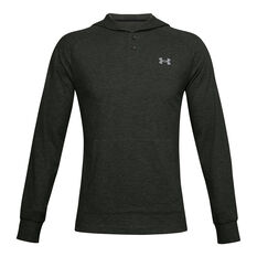 Under Armour Mens ColdGear Infrared Hoodie Green S, Green, rebel_hi-res