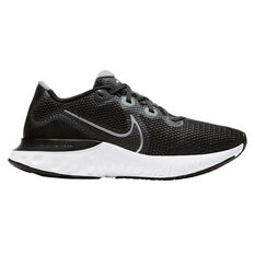Nike Renew Run Womens Running Shoes Black/Silver US 10, Black/Silver, rebel_hi-res