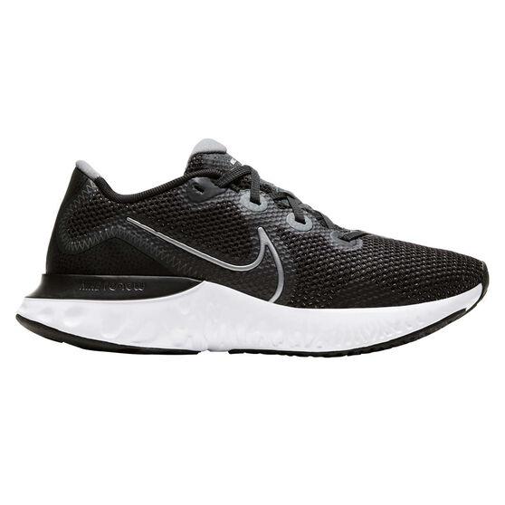 Nike Renew Run Womens Running Shoes, Black/Silver, rebel_hi-res