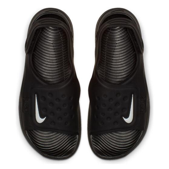 Nike Sunray Adjust 5 Kids Sandals, Black / White, rebel_hi-res