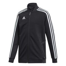 adidas Boys Tiro 19 Training Jacket Black / White 8, Black / White, rebel_hi-res