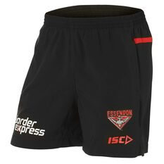 Essendon Bombers 2018 Mens Training Shorts, , rebel_hi-res