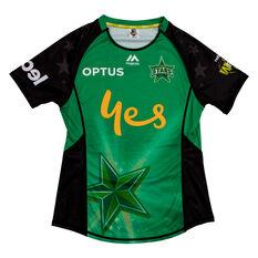 Melbourne Stars 2019 WBBL Womens Jersey Green S, Green, rebel_hi-res