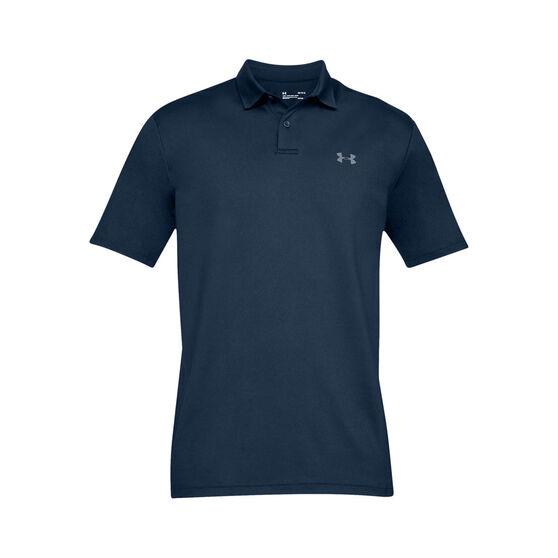 Under Armour Mens Performance 2.0 Polo Shirt, Navy, rebel_hi-res
