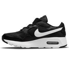 Nike Air Max SC Kids Casual Shoes Black/White US 11, Black/White, rebel_hi-res