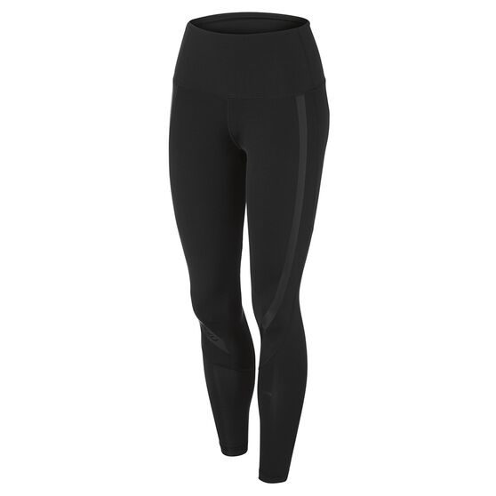 2XU Womens Hi Rise Compression Tights, , rebel_hi-res