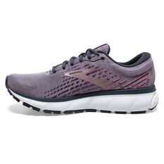 Brooks Ghost 13 Womens Running Shoes Purple/Silver US 6, Purple/Silver, rebel_hi-res
