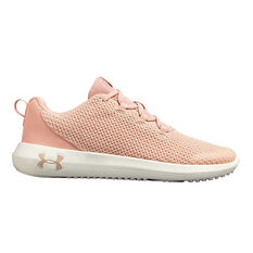 Under Armour Ripple Kids Running Shoes Pink US 4, Pink, rebel_hi-res