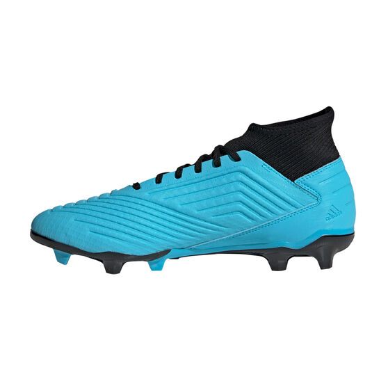 adidas Predator 19.3 Football Boots, Blue / Black, rebel_hi-res