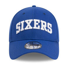 Philadelphia 76ers 39THIRTY Type Hype Cap Blue S / M, Blue, rebel_hi-res