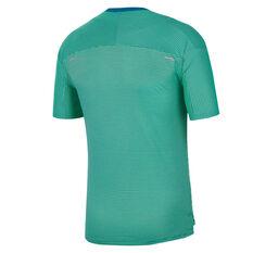 Nike Mens TechKnit Future Fast Tee Green S, Green, rebel_hi-res