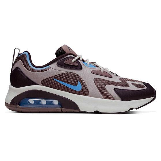 Nike Air Max 200 Mens Casual Shoes Purple / Blue US 11, Purple / Blue, rebel_hi-res