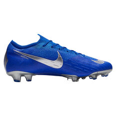 Nike Mercurial Vapor XII Elite Mens Football Boots Blue / Black US 7, Blue / Black, rebel_hi-res