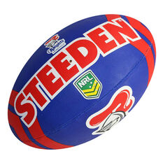 Steeden NRL Newcastle Knights Supporter Rugby League Ball, , rebel_hi-res