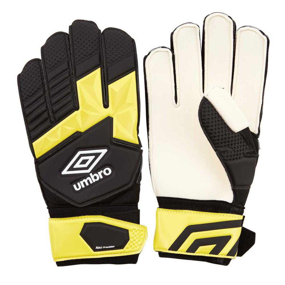Rebel Sport Keeper Gloves: Umbro Neo Precision Soccer Goal Keeping Gloves
