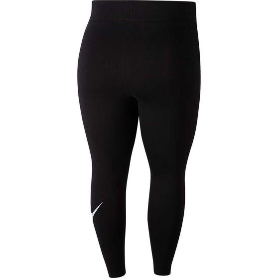Nike Womens Sportswear Leg A See High-Rise Tights Plus, Black, rebel_hi-res
