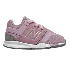 New Balance 247 v2 Toddlers Casual Shoes Pink / White US 5, Pink / White, rebel_hi-res