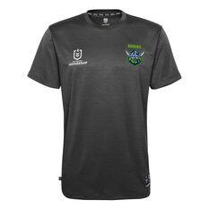 Canberra Raiders 2021 Mens Performance Polo, Black, rebel_hi-res