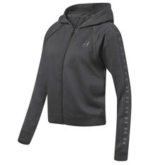 quality design 96c33 ab931 Under Armour Womens Rival Fleece Hoodie Black XS, Black, rebel hi-res ...