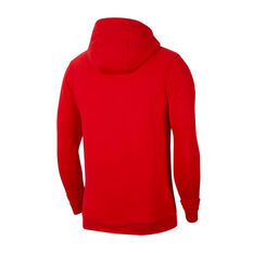 Nike Chicago Bulls Mens Club Logo Hoodie Red S, Red, rebel_hi-res