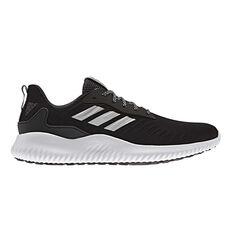 adidas Alphabounce RC Mens Running Shoes Black / White US 7, Black / White, rebel_hi-res