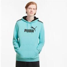 Puma Mens Amplified Hoodie, Blue, rebel_hi-res