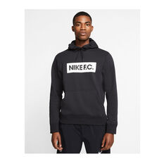 Nike F.C. Mens Pullover Fleece Hoodie, Black, rebel_hi-res