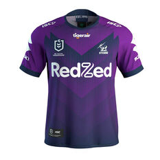 Melbourne Storm 2020 Mens Home Jersey Purple S, Purple, rebel_hi-res