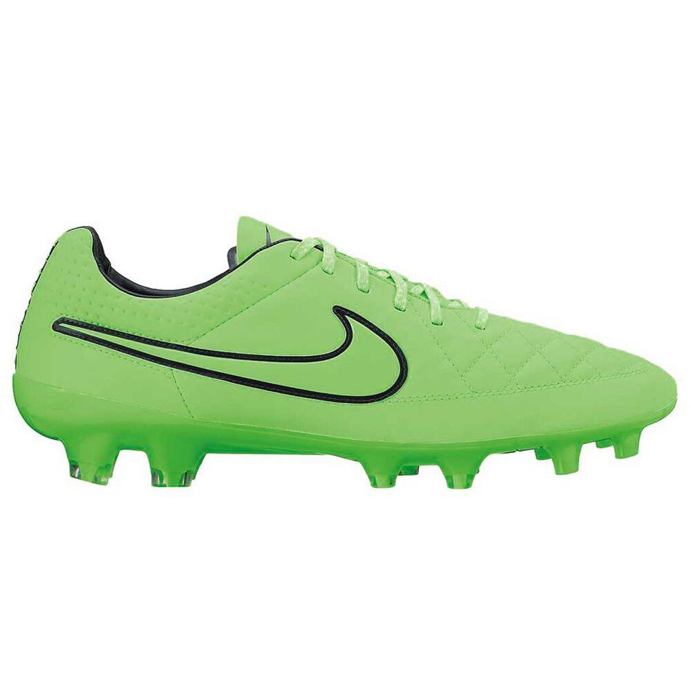 df50b37c5260 Nike Tiempo Legend V Mens FG Football Boots Green / Black US 8.5 Adult,  Green