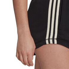 adidas Womens Sportswear Recycled Shorts, Black, rebel_hi-res