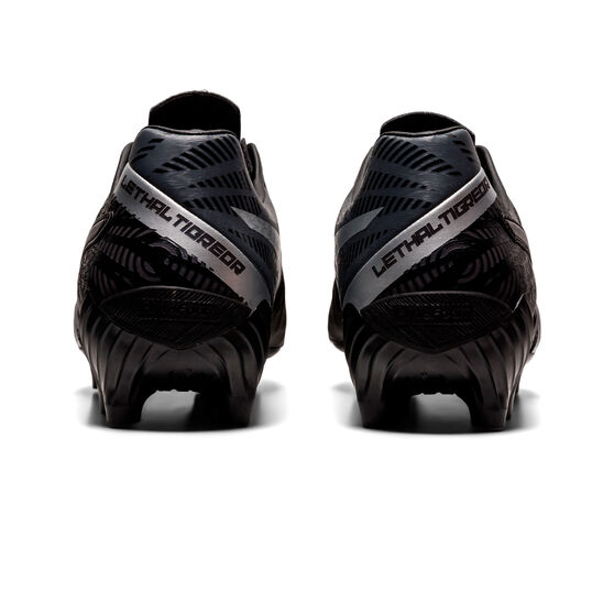 Asics Lethal Tigreor IT FF 2 Football Boots, Black/Silver, rebel_hi-res