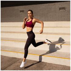adidas Womens How We Do Tights Purple XS, Purple, rebel_hi-res