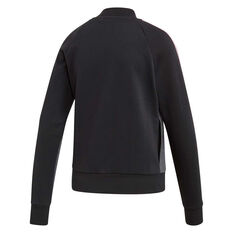 adidas Womens Essentials Seasonal Bomber Jacket Grey XS, Grey, rebel_hi-res