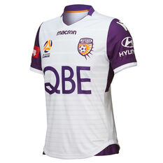 Perth Glory 2018 / 19 Mens Away Jersey Purple S, Purple, rebel_hi-res